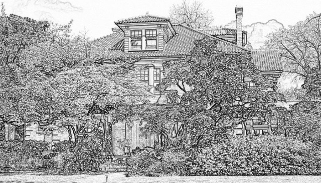 Musselman House Sketch